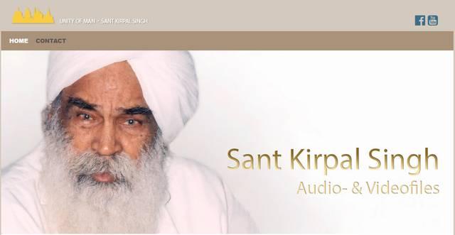 Sant Kirpal Singh — Audio- & Videofiles